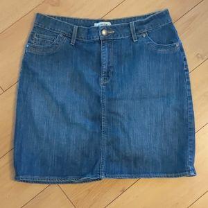 Women's jeans pencil skirt